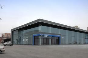 Медиа-центр. Салон Hyundai, г.Харьков