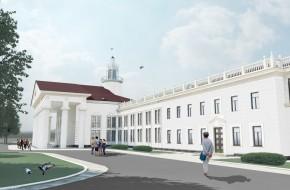 Реконструкция международного аэровокзала под пассажирский терминал повышенного комфорта VIP класса, г. Львов