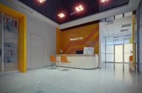 Дизайн интерьера клуба Forex