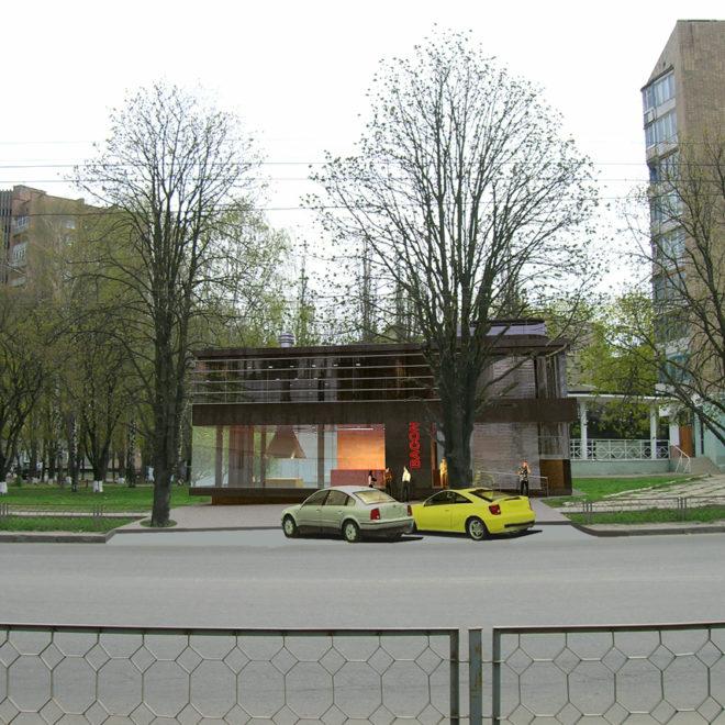 дневной фасад
